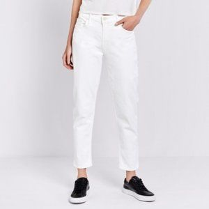 MOTHER THE DROPOUT JEANS Whipping Cream Size 24